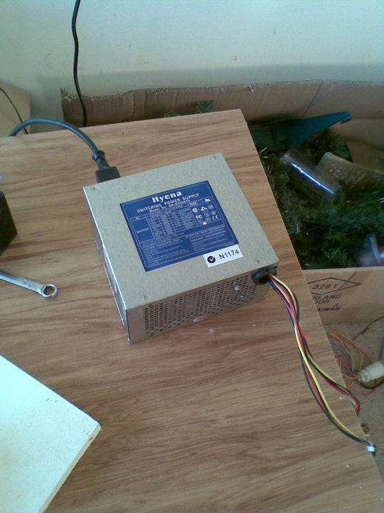 Modified ATX Power Supply